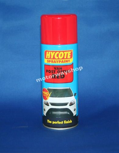 Van Post Office Red Spray Paint Hycote 400ml Aerosol